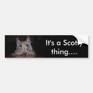 Det är en Scotty sak… Bildekal