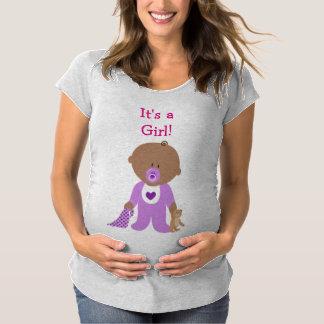 Det är en skjorta för moderskap för baby för t shirt