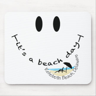 Det är en stranddag - den Rehoboth stranden, Delaw Musmatta