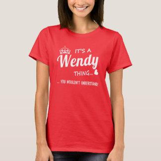 Det är en Wendy sak T Shirts