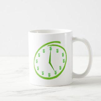 Det är fem klockan någonstans kaffemugg
