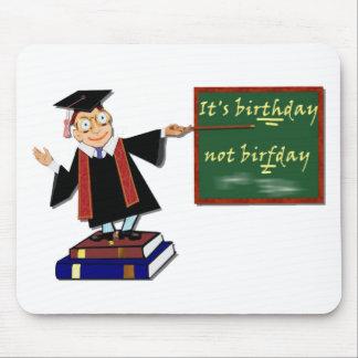 Det är födelsedagen inte Birfday Musmatta