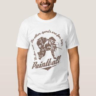 Det är för manar…, PaintballSleveless T-tröja T Shirt