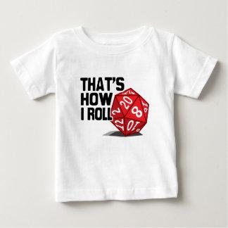 Det är hur jag rullar tshirts