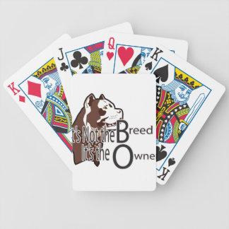Det är inte aveln som det är ägaren spelkort