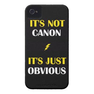 Det är inte Canon - det är det precis tydliga iPhone 4 Cover
