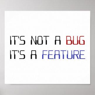 Det är inte ett kodifiera kryp som det är ett poster