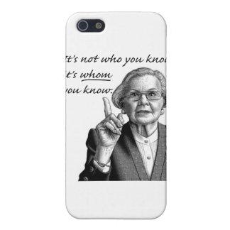 Det är inte vem dig vet, det är, VEM du vet iPhone 5 Fodraler