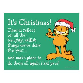 Det är jul! vykort