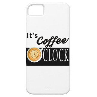 det är kaffeklockantext tar tid på iPhone 5 skal