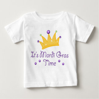 Det är Mardi Gras Time Tee