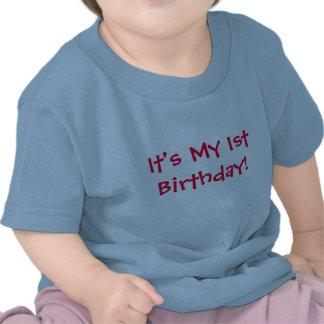 Det är min 1st födelsedag! - Barn-T-Skjorta Tshirts