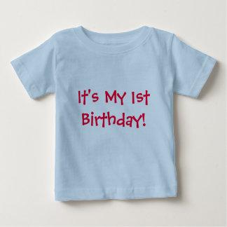 Det är min 1st födelsedag! - Barn-T-Skjorta Tee