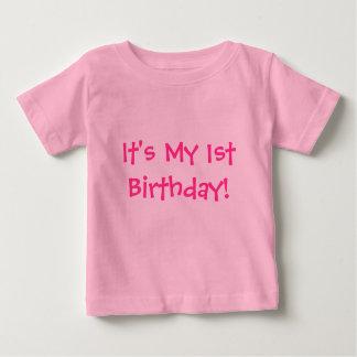 Det är min 1st födelsedag! - BarnT-tröja Tee Shirt