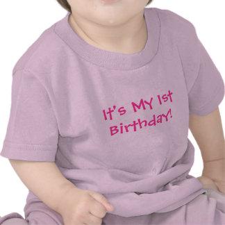 Det är min 1st födelsedag! - BarnT-tröja
