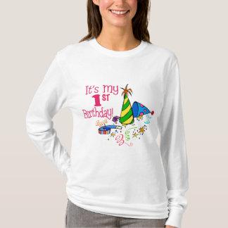 Det är min 1st födelsedag (partyhattar) tee shirt