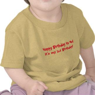Det är min 1st födelsedag! tshirts