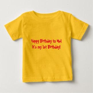 Det är min 1st födelsedag! tee shirt