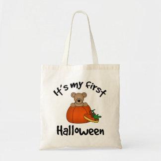 Det är min 1st Halloween Budget Tygkasse