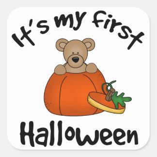 Det är min 1st Halloween Fyrkantigt Klistermärke