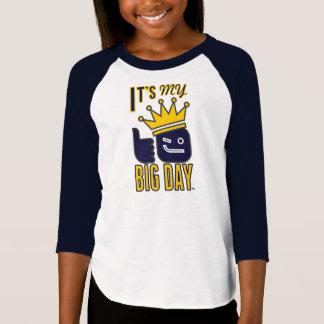 Det är min STORA DAGflicka 3/4 T-tröja för Raglan T Shirts