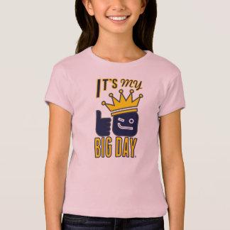 Det är min STORA DAGflicka inpassade T-tröja T-shirt