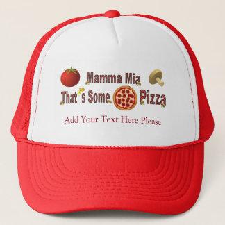 Det är någon Pizza Keps