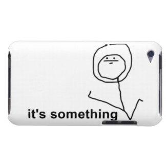 Det är något komiska Meme Barely There iPod Skyddande Skydd