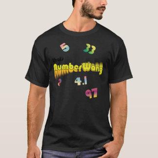 Det är numrerar Wang T Shirt