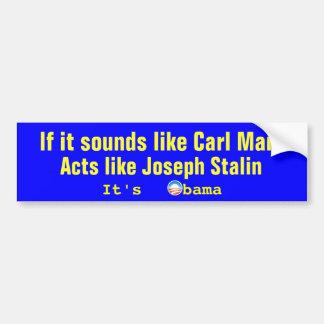Det är Obama Bildekal