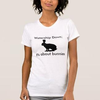 Det är om kaniner t-shirts