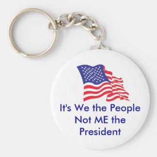 Det är oss folket, mig inte pet… rund nyckelring