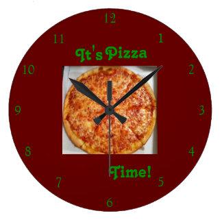 Det är Pizza Time! Ta tid på Stor Klocka