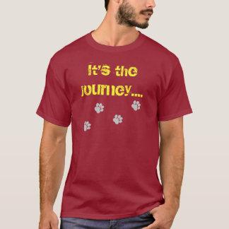 Det är resan… inte destinationen t shirt