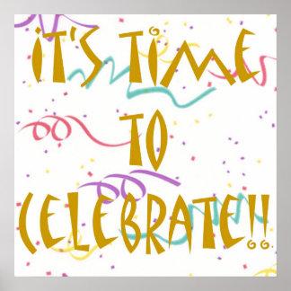 Det är Time som ska firas!! Poster