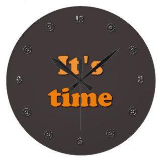 Det är Time Stor Klocka