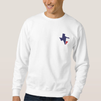Det är Time Texas manar Pullover Lång Ärmad Tröja