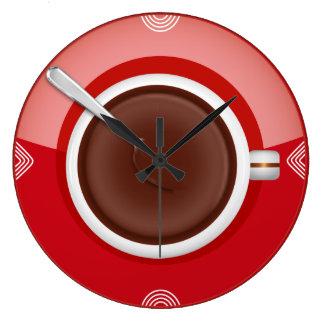 Det är väggen för den kaffeTime rundan tar tid på Stor Klocka