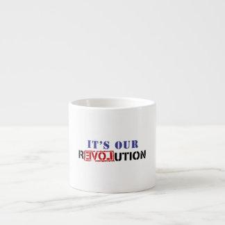 Det är vår revolution espressomugg