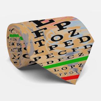 Det Artsy ögat kartlägger optometrikerguld Slips