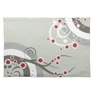 Det asiatiska körsbäret blommar bordstablett