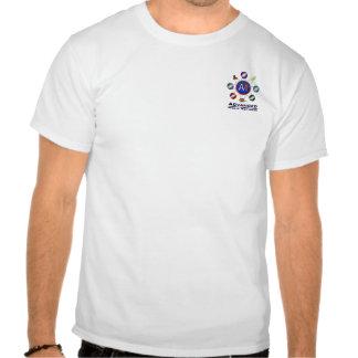 Det avancerade massmedia knyter kontakt tee shirts