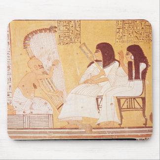 Det avlidet och hans fru musmatta