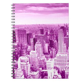 Det bästa torn beskådar anteckningsbok