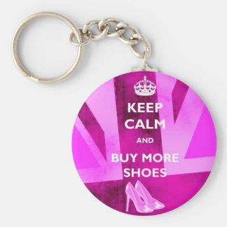 Det behållalugn och köp skor mer nyckelringen rund nyckelring