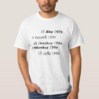 Det beställnings- bibliotek daterar rakt skjortan t shirt