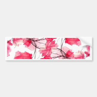 Det blom- trycket virvlar runt dekorativ design bildekal