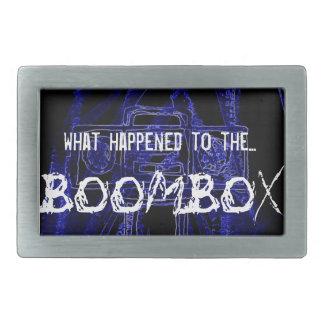 Det Boombox bältet spänner fast