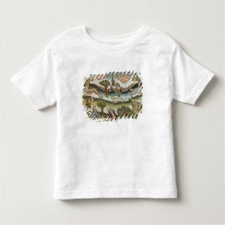 Det Bradford bord mattar Tee Shirt