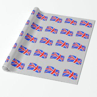 Det brittiska papper presentpapper